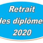 Diplômes 2020 : à retirer