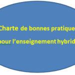 Charte de bonnes pratiques pour l'enseignement hybride