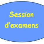 Informations sur la session d'examens de juin 2021