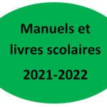 Manuels et livres scolaires - 2021/22